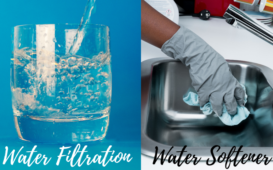 water filtration vs water softener