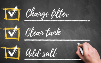Your Water Softener Maintenance Checklist